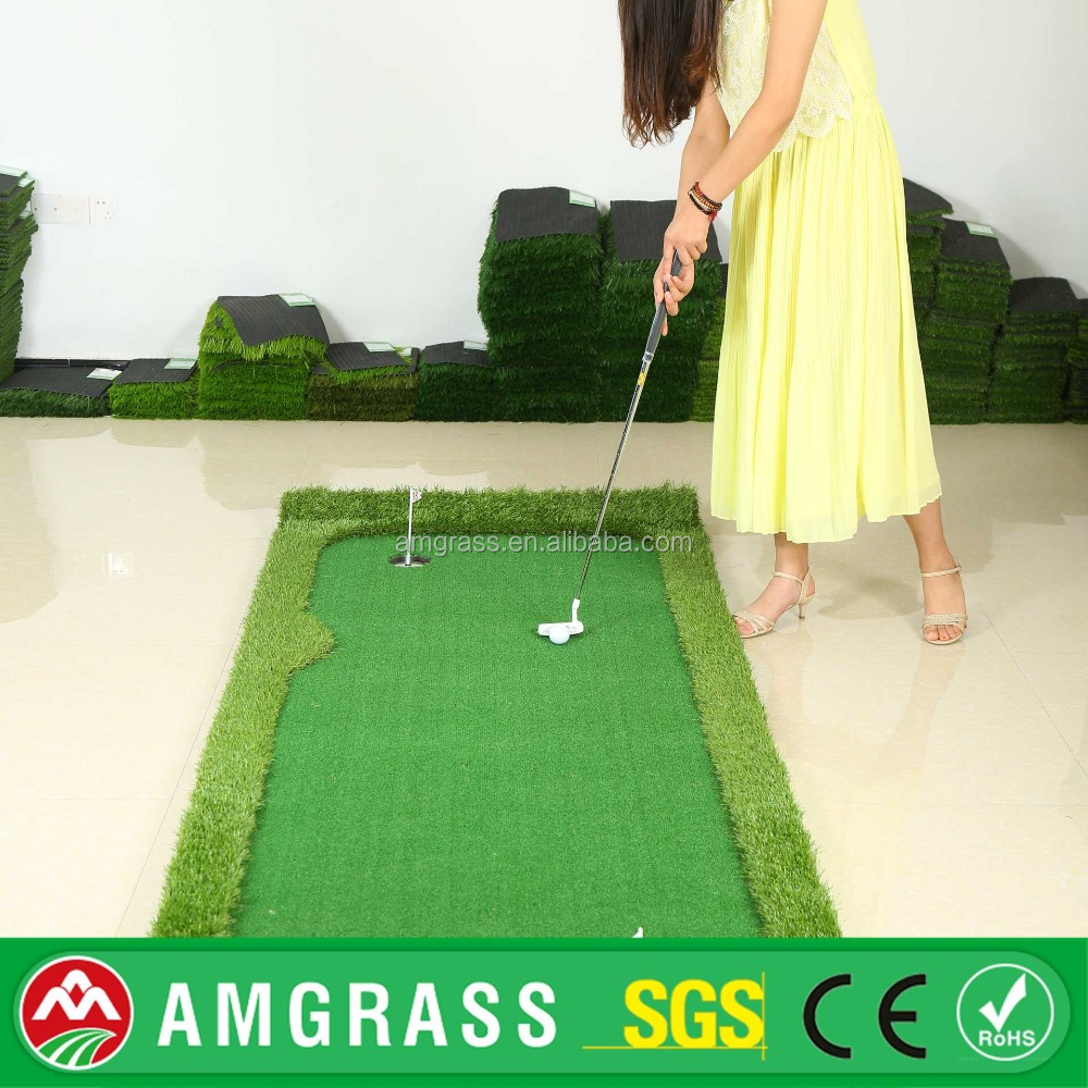 AMGRASS Environmentally Friendly Easy Install Sports Flooring artificial football lawn
