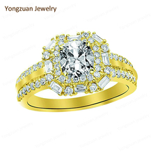Alibaba Suppliers Cheap Wholesale Fashion Jewelry,White Gold Plated Jewellery Cushion Cut Diamond Rings