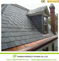 Light Grey Slate Roofing Tiles With Top Grade