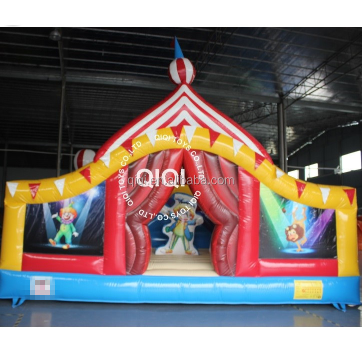 Used inflatables circus party theme from qiqi inflatables
