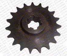 19 Tooth 8MM T8F Front Sprocket 47CC 49CC Mini Moto Dirt Pit Bike Parts