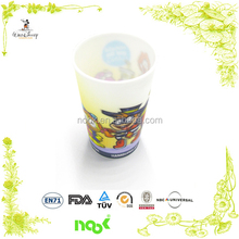 food grade 3D plastic cup/children plastic cups/plastic glass with printed logo