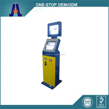 "17"" dual payment terminals with touch screen,electronic payment terminals for mobile phone charge (HJL-D3516-PH)"