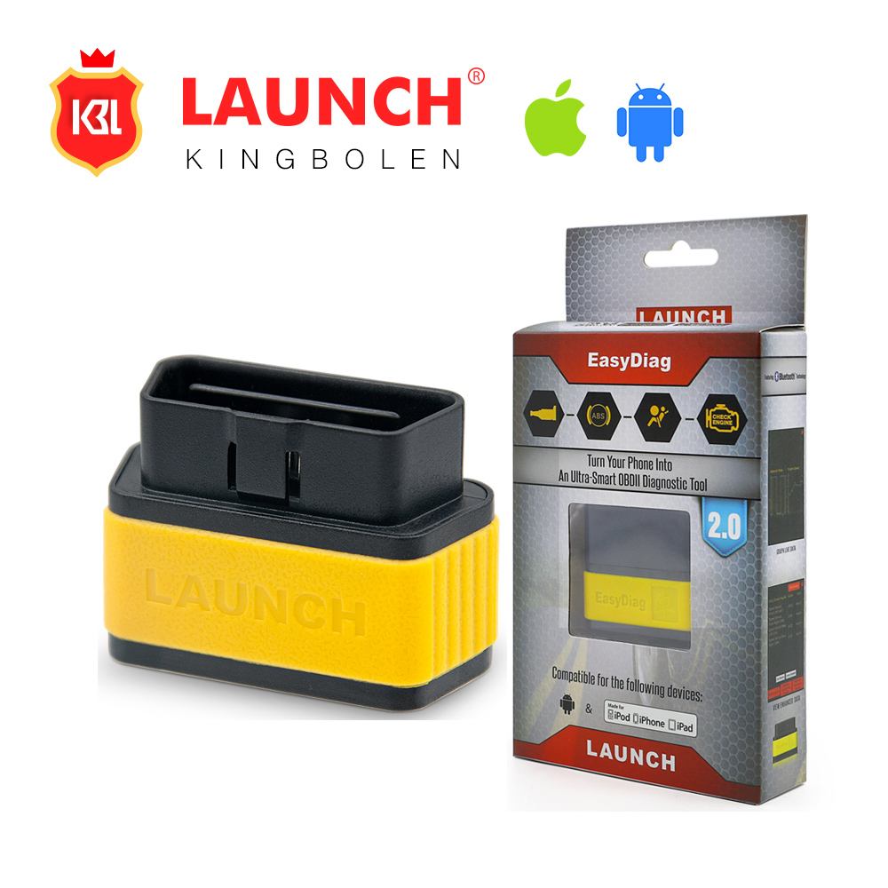 Original Launch X431 EasyDiag 2.0 OBDII Generic Code Reader Scanner Launch Easy Diag 2.0 For Android&IOS