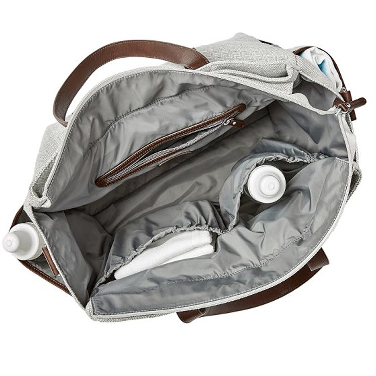 DB0591 Fashion Mummy Baby Nappy Changing Leather Diaper Bag