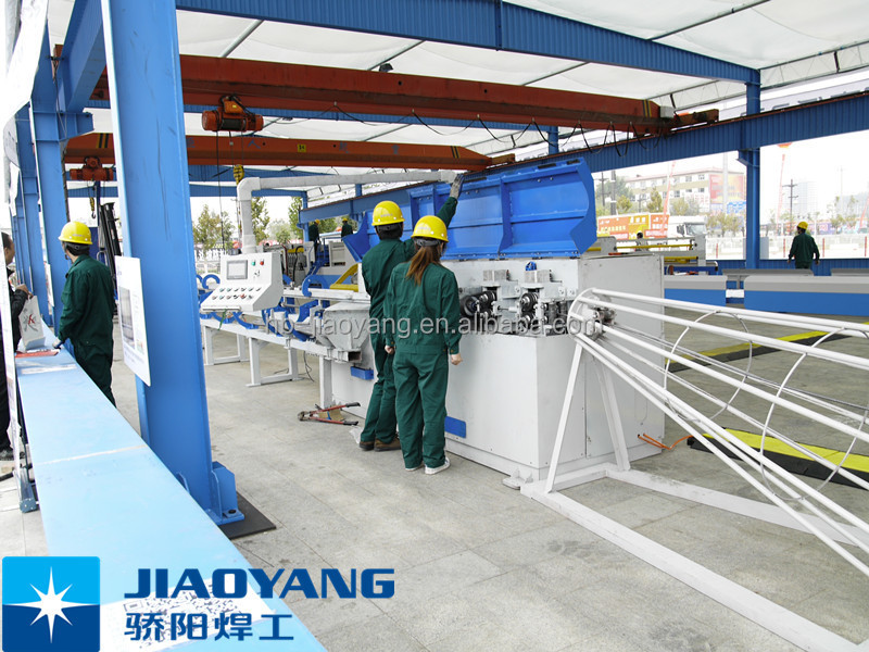JIAOYANG high speed 3d panel mesh welding production equipment