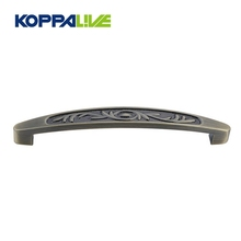 Hot sale custom zinc alloy kitchen drawer pull handle