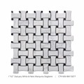 Hot sale interior decoration mosaic pattern marble mosaic tile