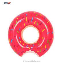 inflatable donut swimming ring for adult