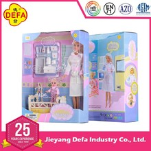 nurse make up doll/wholesale plastic vinyl nurse doll toys