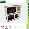 eco-friendly durable wooden pet house folding rabbit cage