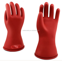 Electric Service Rubber Insulating Gloves Class 0 Latex Insulation Work Glove 5KV