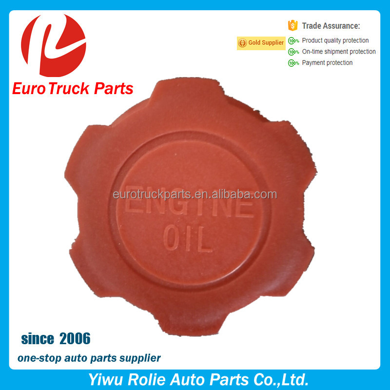 Parts No 20807510 1675839 3154328 Heavy Duty European Truck Lubrication System Volvo FH12 FH16 truck plastic oil filter cap