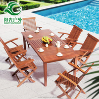 Modern Design Used Outdoor Teak Wooden