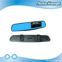 HD car dvr dash camera double lens 1080P car rear view mirror camera /vehicle traveling data recorder