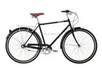 cheap CE Approved 3 speed vintage City Bike, Colorful Beach Bike,Femal/male City Bike/Inner 3/8 Speed urban city bicycle