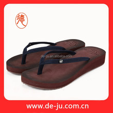 Small Canvas Strap Slippers Of Foam Rubber Sandal Sole