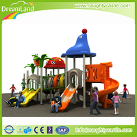Colorful outdoor playground padding kids outdoor playground items