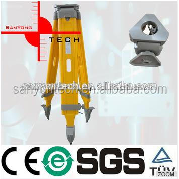 JM-1S factory price Wooden Tripod For Topcon Total Station