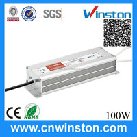 Trade Assurance IP67 LPV-100-12^ Single output 100W 12V 8.5A Waterproof led Power Supply/