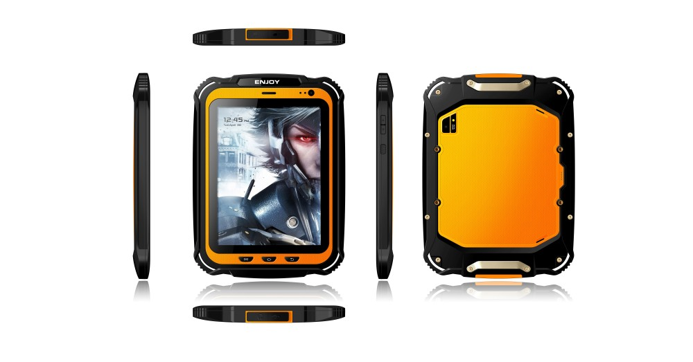 Best sell 7.85 inch T1 IP67 waterproof tablet pc rugged tablet android tablet