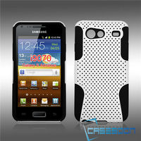 MESH SILICONE COMBO CASE For Samsung Galaxy S Advance i9070