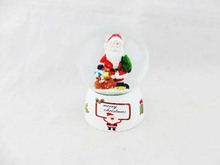 christmas poly bottom glass snow ball machines