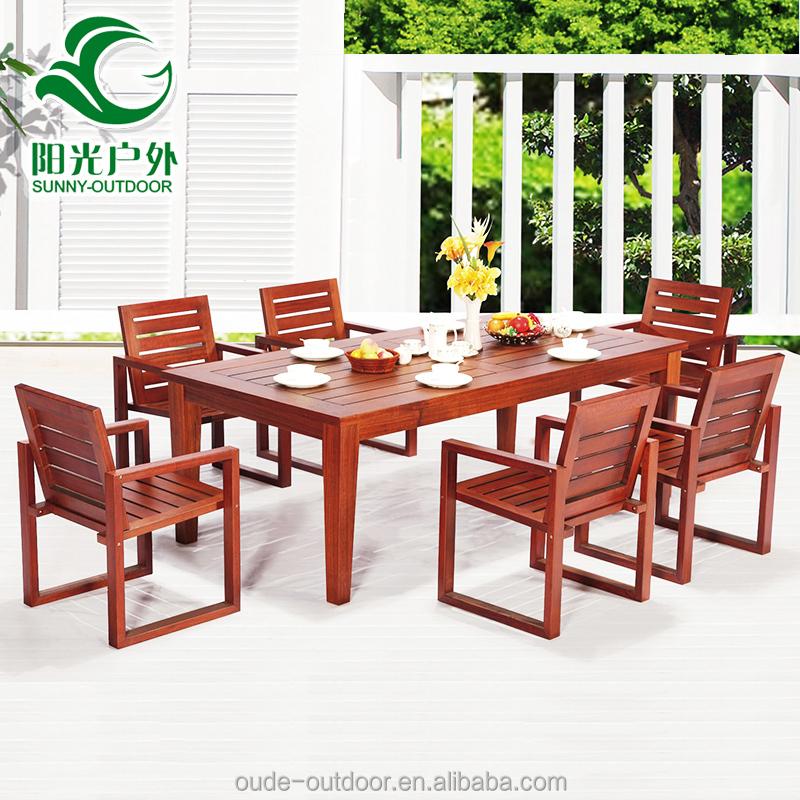 european style high quality hotel teak outdoor furniture