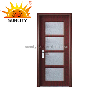 Pvc plastic door frame covering for door glass