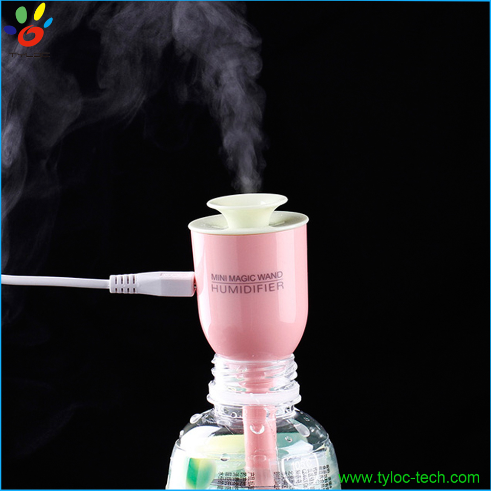 Stylish mini usb humidifier air water sprayer personal office humidifier
