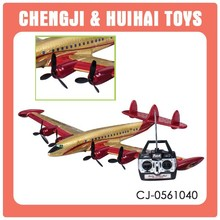 Cheap 2 channel remote control airplane toy electric rc model plane