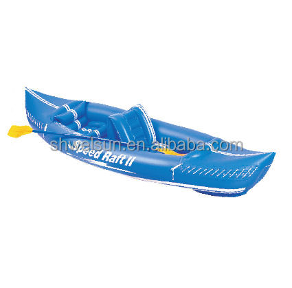 Durable Explorer inflatable cheap Kayak for 2 person