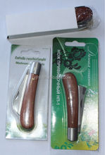 wood cutting blade gardening tools mushroom knife pruning knife double blades