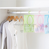 Wholesale Stock Small Order Hanging Convenient Classify Mesh Storage Bag
