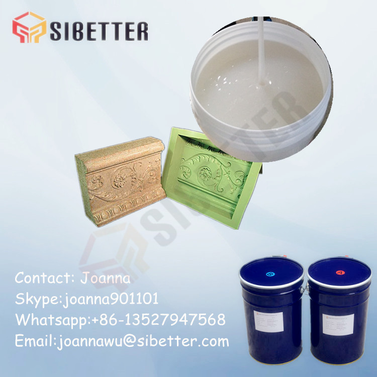 Platinum Catalyst Raw Material Liquid Silicone Rubber for Plaster Molds