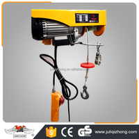 Boat marine hoist trolley mini electric wire rope hoist