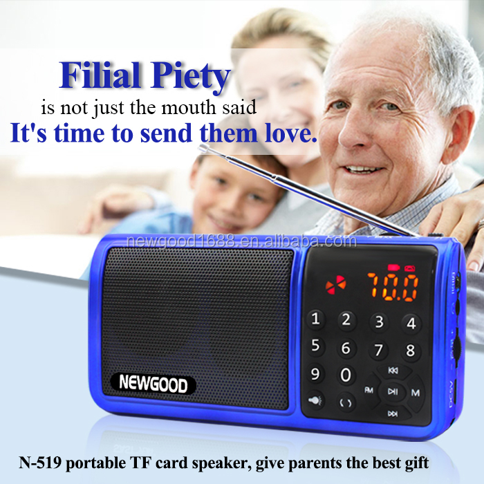 NEWGOOD bluetooth radio digital music mp3 media <strong>player</strong> for jogging and running,outdoor sporting goods