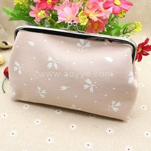 Wholesale Korea fabric printed long creative woman carrying coin purse