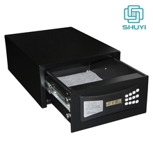 Hotel Style Low Profile Quick Access Drawer Safe Box with Electronic Lock