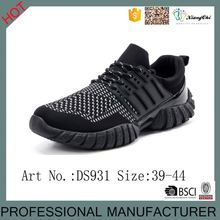 2016 Hot Selling Sport Safety Shoes And Elastic Net Cloth Shoes