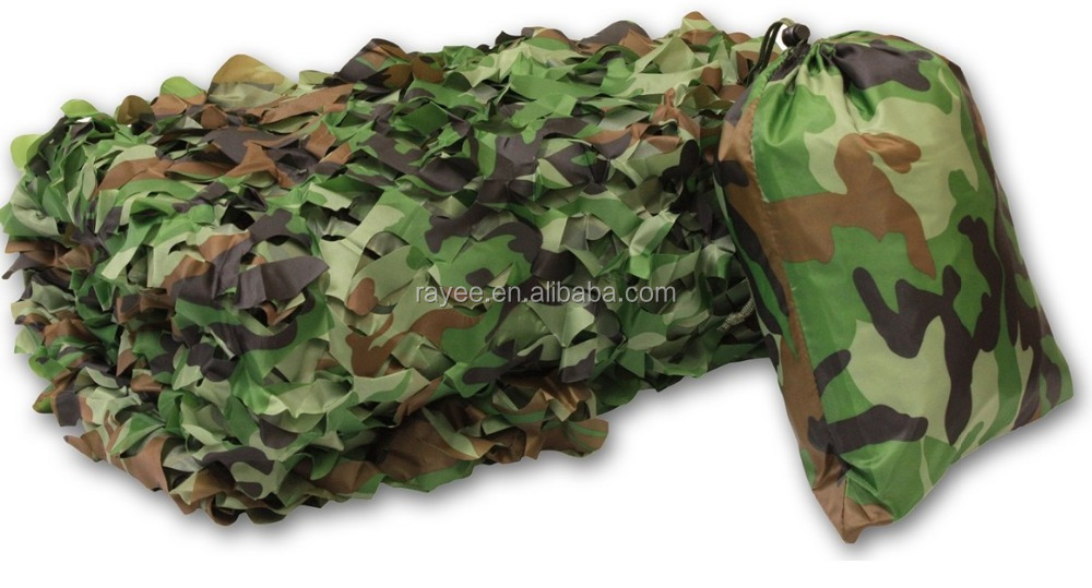 China supply the camouflage netting, Military camo net equipment sale /red de camuflaje/snow Camuflaje