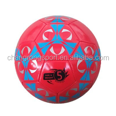 pvc rubber bladder football machine sewn soccer ball