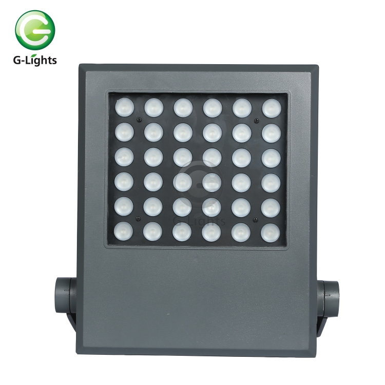 Factory price High lumen bridgelux IP67 waterproof outdoor floodlight 36w