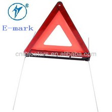 Car Safety Warning Triangle with Emark Of Reflective Material and car part D8A