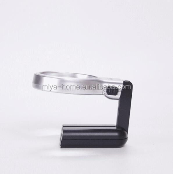High quality 3X Foldable Desktop Handheld Reading Magnifier With 10 LED Magnifying Glass
