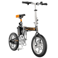 New Airwheel R5 foldable smart electric bike with pedal and seat