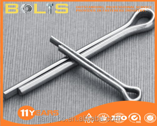 DIN94 stainless steel 316 split pins 8 pins connector