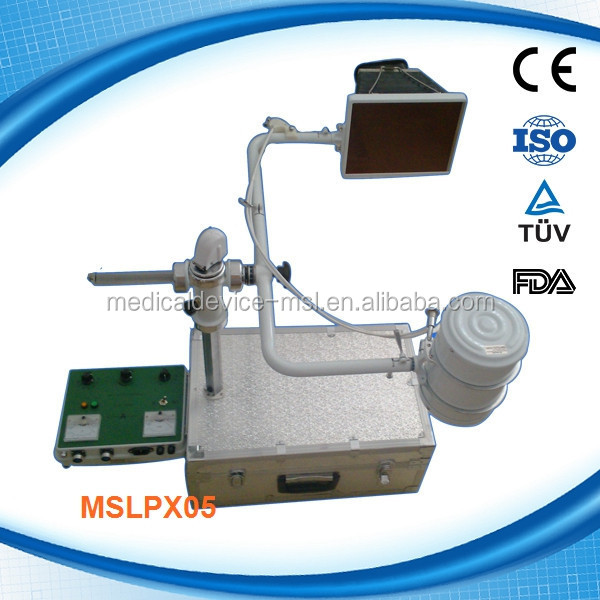 10MA fluoroscopy function chest portable x ray machine CE proved (MSLPX05-Q)