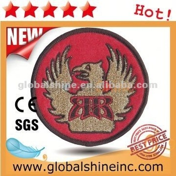 2012 woven patch/badge