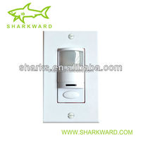 Wall switch occupancy sensor sound activated light switch